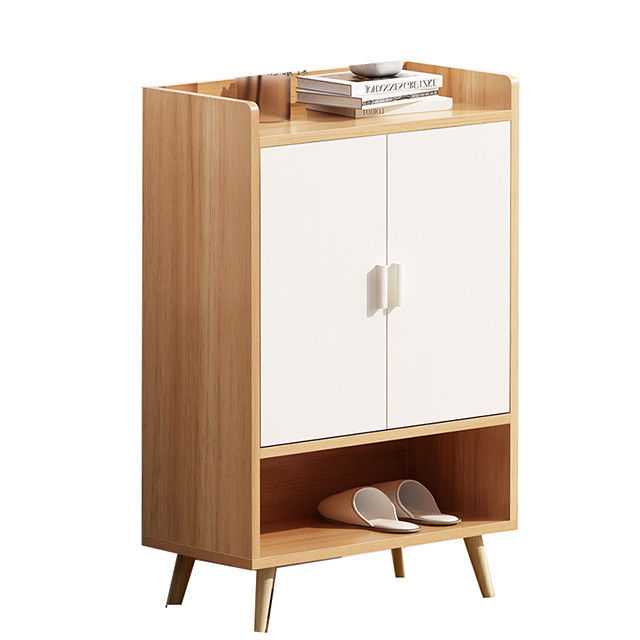 Indoor Furniture Waterproof Mdf Particle Board Shoe Rack Cabinet To Living Room